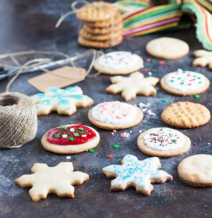 Holiday Cookies don't have to be complicated using Betty Crocker cookie mixes!