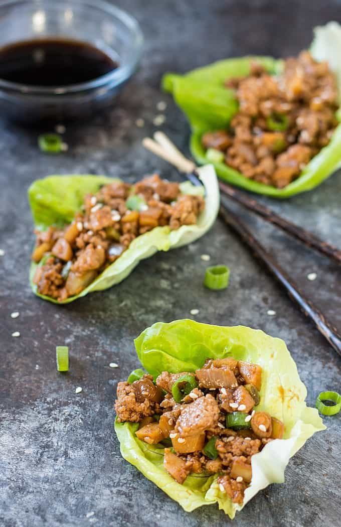 how to cook lettuce wrap