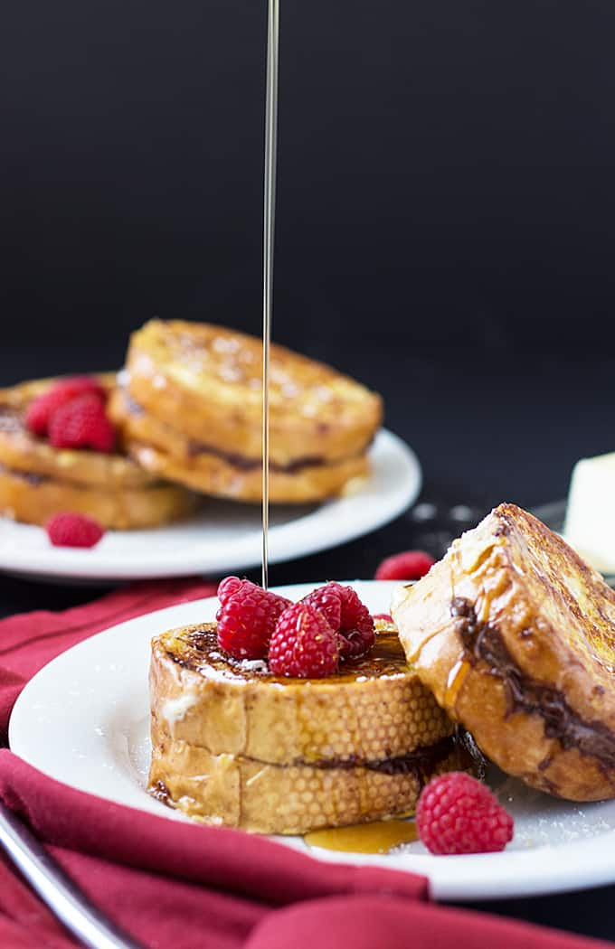 Nutella Stuffed French Toast | theblondcook.com