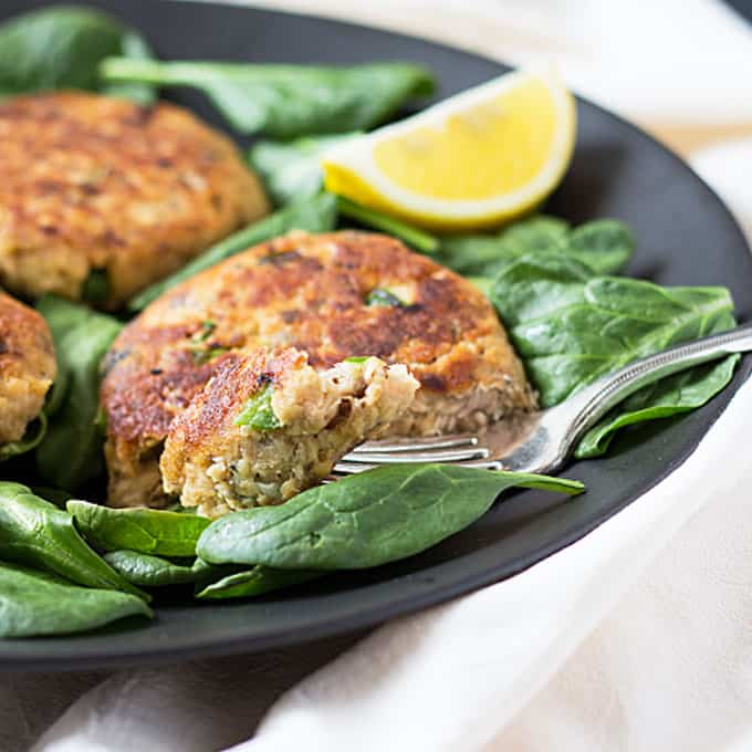 Quick and Easy Salmon Patties - These make a great meal and are prepared in less than 20 minutes!