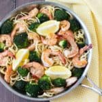 Lemon Broccoli Shrimp Pasta