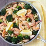 Lemon Broccoli Shrimp Pasta