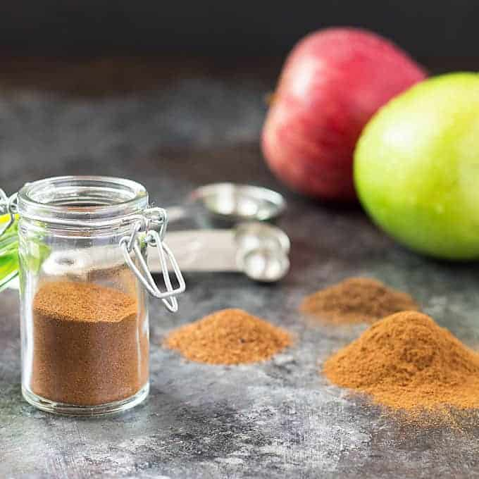 Homemade Apple Pie Spice - So easy and just 3 ingredients! theblondcook.com