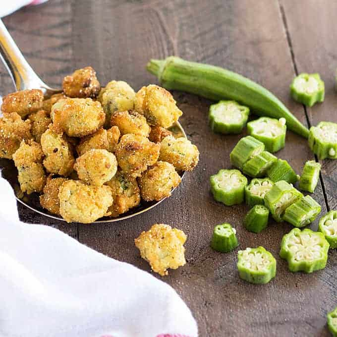Fried Okra | The Blond Cook
