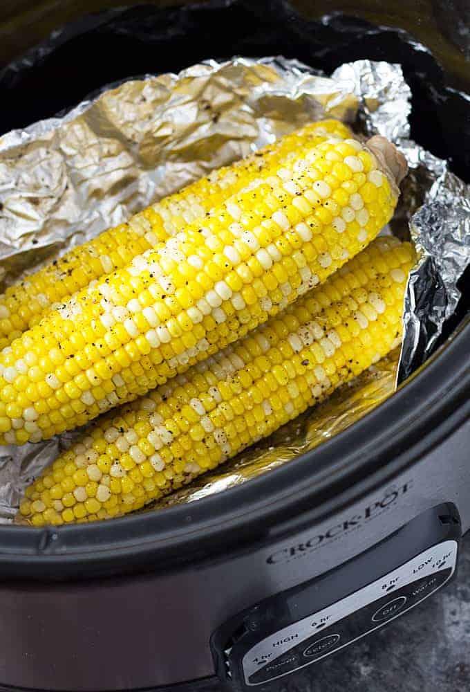Crockpot Corn On The Cob The Blond Cook