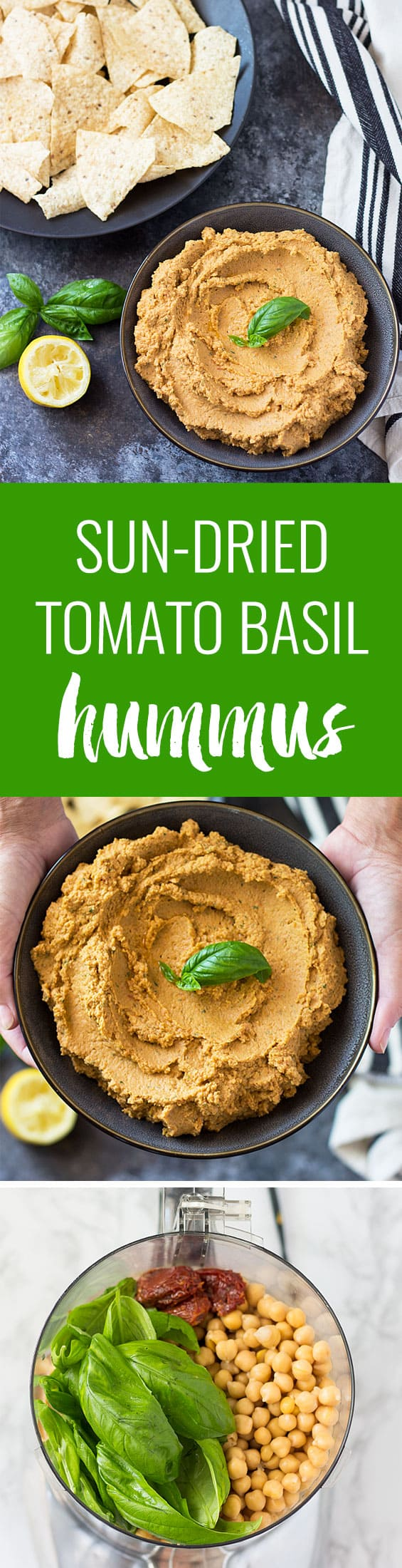 Basil Hummus Recipe — Dishmaps
