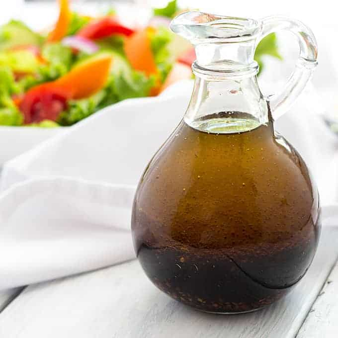 Homemade Balsamic Vinaigrette | The Blond Cook