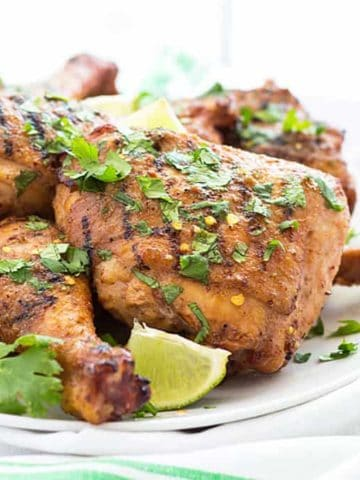 Honey Lime Grilled Chicken | theblondcook.com