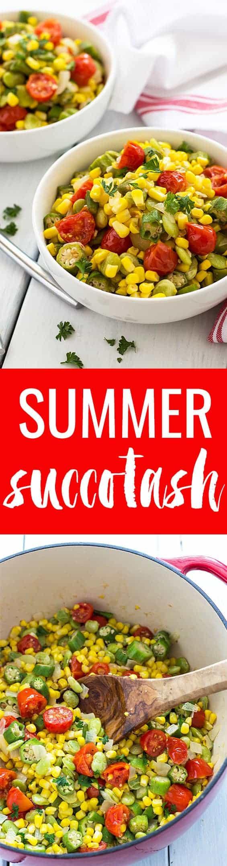 Summer Succotash | theblondcook.com