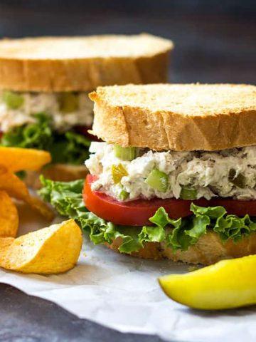 Wahoo Salad | theblondcook.com