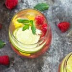 White Raspberry Mango Sangria | theblondcook.com