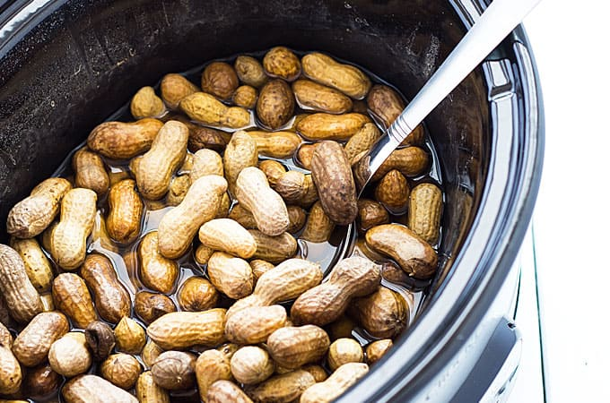 Crock Pot Boiled Peanuts - Boiled peanuts have never been easier in your slow cooker!