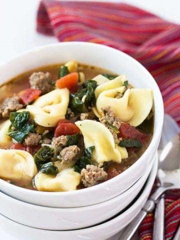 Italian Tortellini Soup
