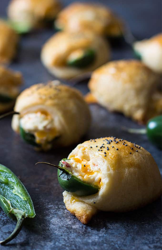 Easy Cheesy Jalapeno Poppers | The Blond Cook