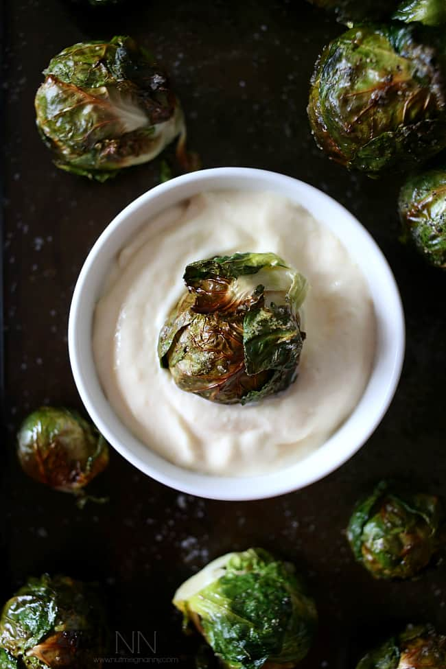 On The Stalk Roasted Brussels Sprouts