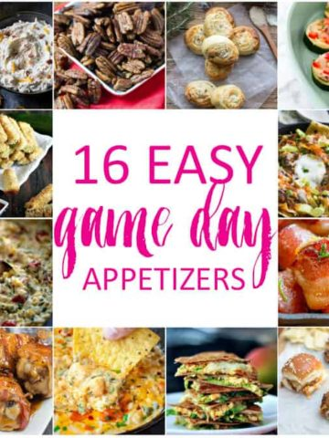 16 Easy Game Day Appetizers