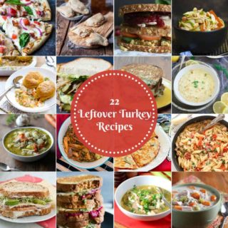 22 Recipes Using Leftover Turkey