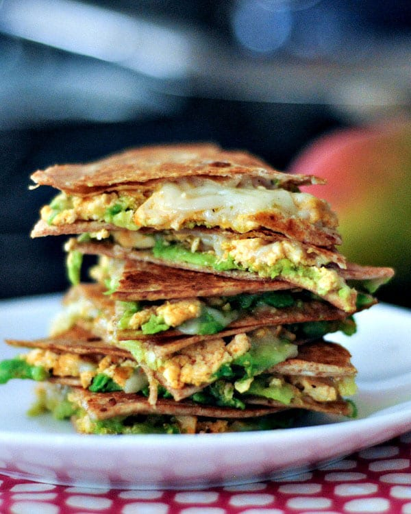 Chipotle Quesadillas with Minty Mango Salsa | Spabettie