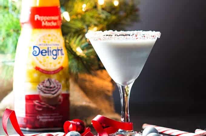 Peppermint Mocha Martini