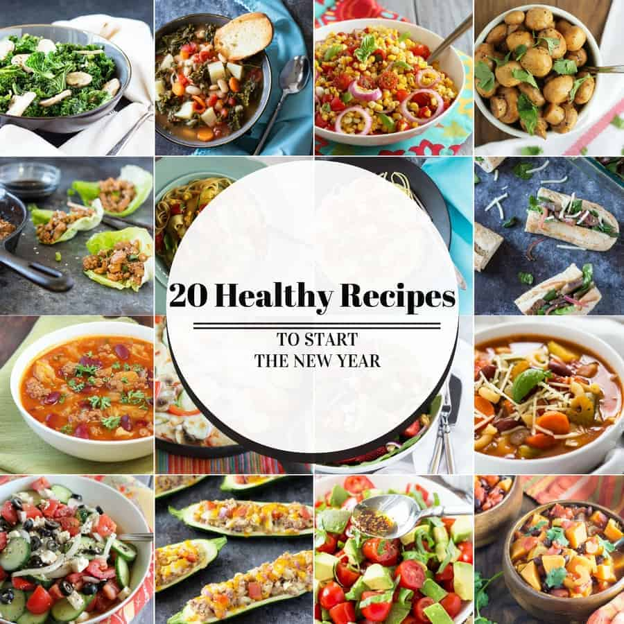 20 Healthy Recipes To Start The New Year