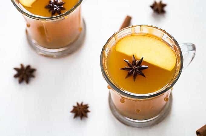Caramel Apple Hot Toddy | theblondcook.com