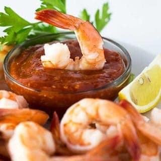 Easy Shrimp Cocktail | theblondcook.com