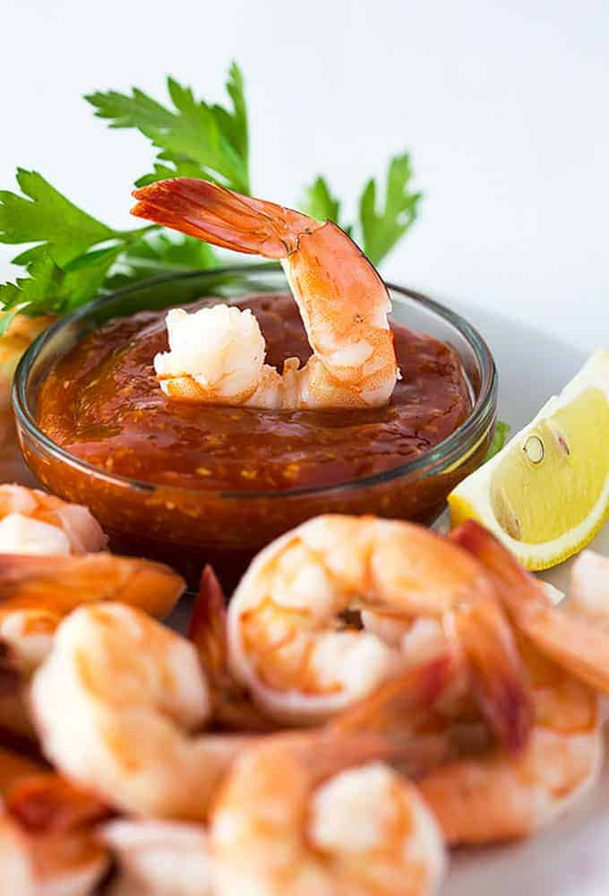 Easy Shrimp Cocktail The Blond Cook