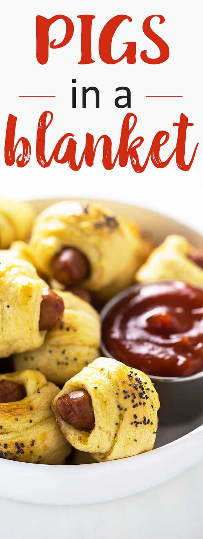 Pigs in a Blanket - This no-fuss, bite-sized appetizer is always a crowd pleaser!