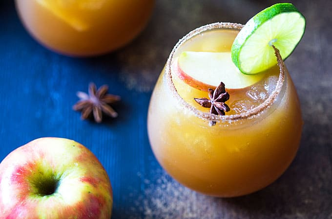 Apple Cider Margaritas