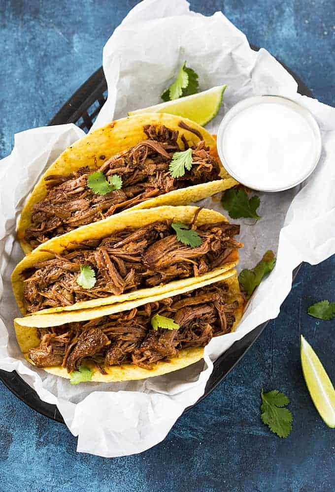 Mexican Shredded Beef Slow Cooker