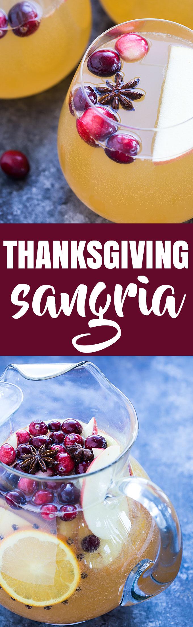 Thanksgiving Sangria