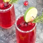 Cranberry Mimosa Margaritas