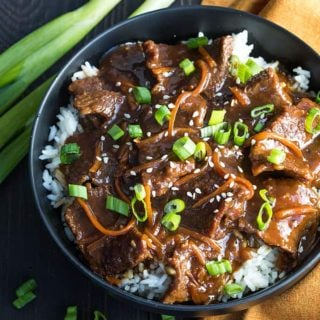 Instant Pot Mongolian Beef – The most tender and flavorful Mongolian beef prepared in your pressure cooker!