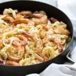 Creamy Lemon Dill Shrimp Pasta