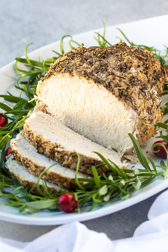 So incredibly moist and tender, this Instant Pot Turkey Breast (and gravy!) is prepared in a fraction of the time than traditional baking.