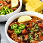 Easy Stove Top Chili