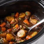 Slow Cooker Balsamic Beef Stew