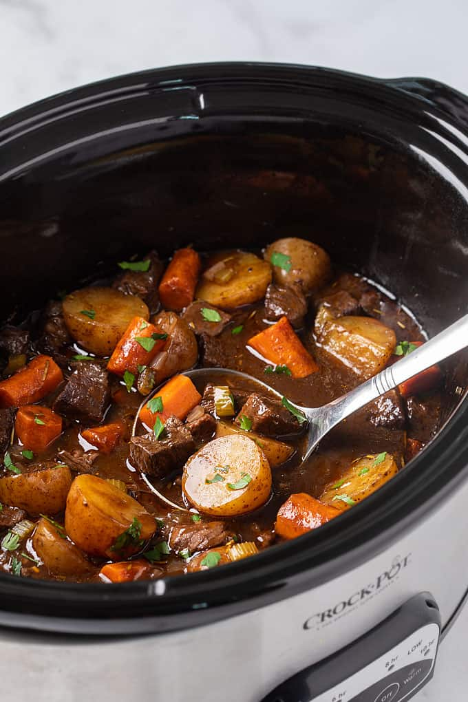 Slow Cooker Balsamic Beef Stew The Blond Cook