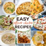 Easy Leftover Chicken Recipes